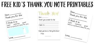 Make Writing Thank You Notes Easier For Young Children With