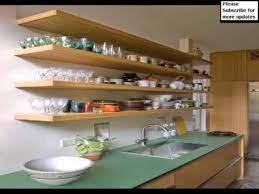 kitchen wall shelving ideas wall