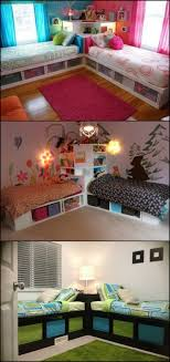 Of Girls Without Dress In Bedroom With Boys How To Build Twin Corner Beds With Storage Boys Beds With