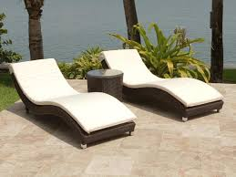 brown set patio source outdoor. Top Source Outdoor Wave 3 Piece Wicker Chaise Lounge Set Regarding Chair Prepare Brown Patio