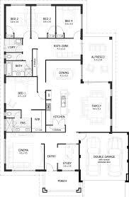 4 bedroom floor plans. Plain Bedroom 4 Bedroom 25 Bath House Plans Lovely 2 5 Ranch  New And Floor U