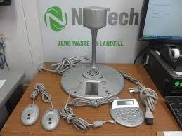 polycom cx5000 conference system microsoft roundtable model rtb001 set