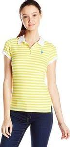 U S Polo Assn U S Polo Shirt Assn Juniors Stripe Jersey Polo Shirt