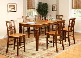 Bar Height Kitchen Table Set 5 Piece Round Pub Table Set Starrkingschool