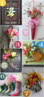 house decorating ideas spring. Spring Door Decor Ideas House Decorating