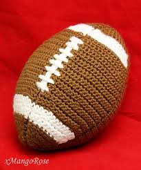 Crochet Football Pattern