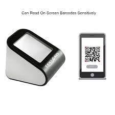 QR kod tarayıcı cep telefonu E bilet 1D 2D barkod okuyucu kablolu USB basit  tasarım|Scanners
