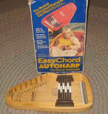 Details About Easy Chord Childs Autoharp By Oscar Schmidt 6 Chords Original Box