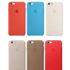 apple silicone or leather case for iphone 6 6s 6 plus 6s plus
