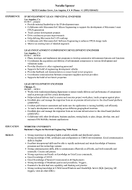 Engineering Resume Examples Lead Development Engineer Resume Samples Velvet Jobs 12