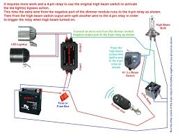wiring diagram for motorcycle led lights preisvergleich me LED Connection Diagram led light with strobe auto dimmer switch wiring diagram below for motorcycle lights