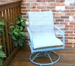 patio chairs that swivel and rock the easy way to paint metal patio furniture petticoat patio