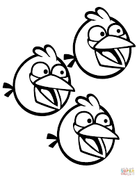 35 Angry Birds Coloring Page Angry Bird Bumblebee Coloring Page