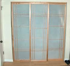 glass closet doors triple sliding closet doors closet doors for small spaces triple sliding frosted glass closet door with glass closet doors for bedrooms
