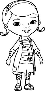 Doc Mcstuffins Color Pages Best Coloring Pages For Kids