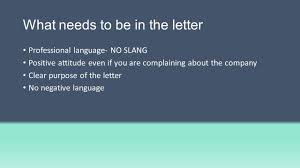 Why Do We Need To Write Business Letters Compliment Complain Make