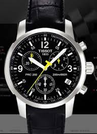 tissot prc 200 automatic chronograph black dial stainless steel best men tissot watches