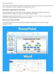 Microsoft Org Chart Template Word Organizational Chart Template Microsoft Office Templates Free Ms