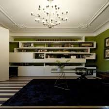 modern decoration home office features. Amusing Modern Home Office Design Along With Fabulous Ultra Features Long Stainless Decoration