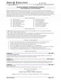 Resume Samples Experience As A Business Owner Entrepreneur