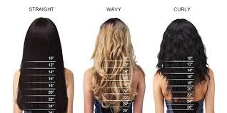 18 Inch Hair Chart Size Chart Echelon Hair