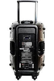 Hepa Merz HS-1000A Set Taşınabilir Ses Sistemi 1000W + 800W 2'li Set