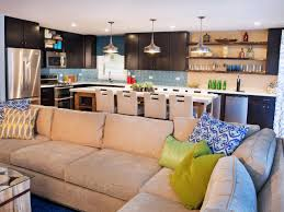Living Room Kitchen Color How To Enjoy The Open Floor Plan