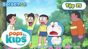Tuyển Tập Hoạt Hình Doraemon Tiếng Việt Tập 75 - Bình Xịt Bum Mê Răng, Đèn  Chiếu Bảo Vệ Các Sinh Vật - Hôm
