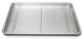 cookie sheet with cooling rack testing rimmed baking sheets the busiest pans in our kitchen