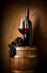 stacked oak barrels maturing red wine. Wine Bottle On Oak Barrel Stacked Barrels Maturing Red R