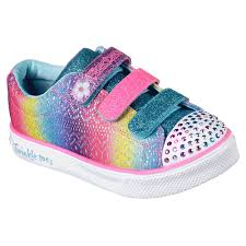 Skechers Kids Twinkle Toes Heart And Sole Light Up Sneaker Skechers Skechers Twinkle Toes Twinkle Breeze 2 0