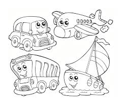 Transport Colouring Pages Only Coloring Pages