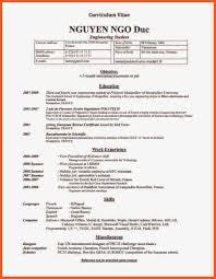 curriculum vitae for internship 8 cv samples for internship theorynpractice