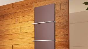 Badheizkörper Design Mirror Steel 3 Braun 1118 Watt 2 Handtuchhalter