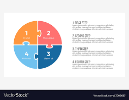 Chart Presentation Images Pie Chart Presentation Template With 4 Steps