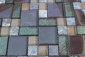 popular glass mosaic tile sheets with sheet brown green mosaic tile mesh glass stone bathroom kitchen