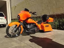 custom choper orange audio gallery inc