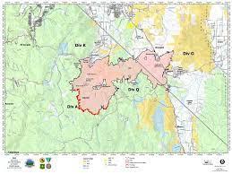 Map of Tamarack Fire Aug. 10, 2021 ...