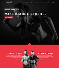 gym website design 15 best html sport website templates 2016 web graphic design