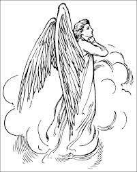 See more ideas about printable coloring, coloring pages, coloring books. Free Angel Coloring Pages For Adults Coloring Home