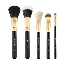 bh cosmetics eye brushes. face essential - 5 piece brush set bh cosmetics eye brushes e
