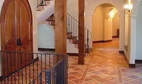 Terra Cotta Floor Tile Kitchen Mexican Tile Restoration