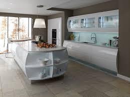 White Gloss Kitchen Worktop Contemporary Kitchens Kitchen Ergonomics