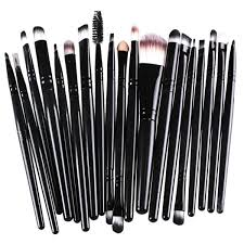 professional makeup brushes set powder foundation eyeshadow make up brushes cosmetics soft synthetic hair 20pcs in eye shadow applicator from beauty