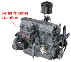 chevrolet engine identification pre 1953 chevrolet engine serial number location