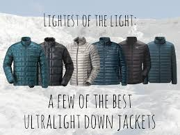 ultralight down jackets