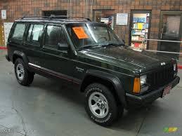 1996 Moss Green Pearl Jeep Cherokee Sport 4wd 22146755 Gtcarlot