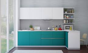 Modular Kitchen Designs India Buy Shelby L Shaped Kitchen Online In India Livspacecom