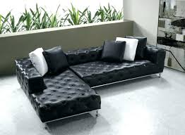 small black sectional sofa low profile couch burdy leather is designed with nail bed