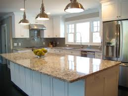 White Kitchen Granite Countertops Kitchen Excelent Modern Kitchen Granite Countertops Hanging